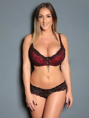 Charming Stacey Poole so hot wearing classic lingerie